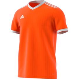 Oranje Adidas shirt junior met korte mouwen