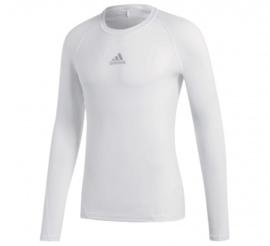 Adidas thermoshirt wit lange mouw