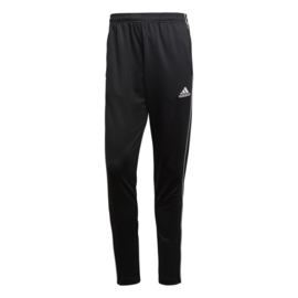 Core 18 zwarte Adidas trainingsbroek