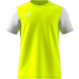Geel Estro 19 Adidas shirt met korte mouwen
