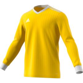 Geel Adidas shirt met lange mouwen Tabela