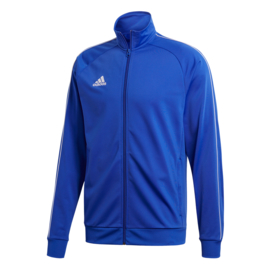 Blauwe Adidas trainingsjas Core 18