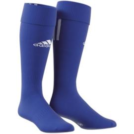 Blauwe Adidas voetbalsokken