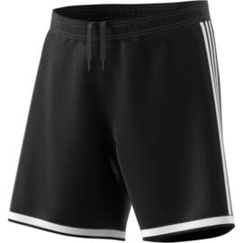 Zwarte sportbroek Adidas met witte strepen Regista 18