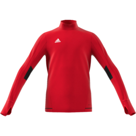 Rode Adidas Tiro 17 sweater junior