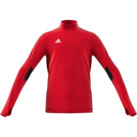 Rode Adidas Tiro 17 sweater junior