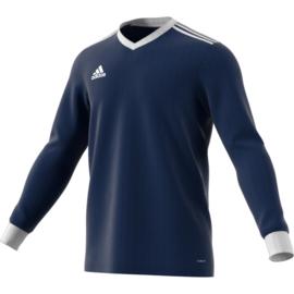 Donkerblauw Adidas shirt met lange mouwen Tabela