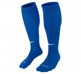 Blauwe Nike voetbalsokken