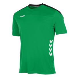 Groen Hummel Valencia shirt met korte mouwen