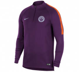 Nike Manchester City paarse trainingsjas / trainingstop