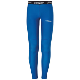 Blauwe thermobroek van Uhlsport