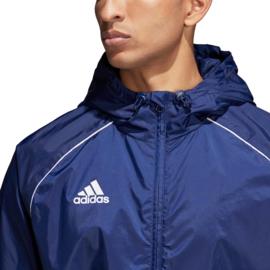 Blauwe regenjas Adidas Core 18