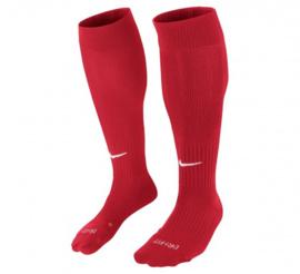Rode Nike voetbalsokken
