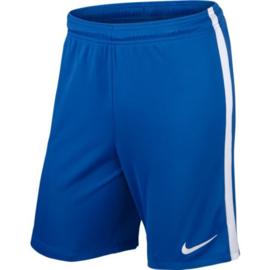 Nike league knit blauwe voetbalbroek