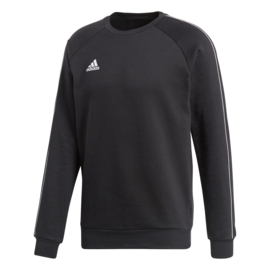 Adidas sweater zwart Core 18