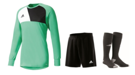 Adidas Assita keeperstenue groen