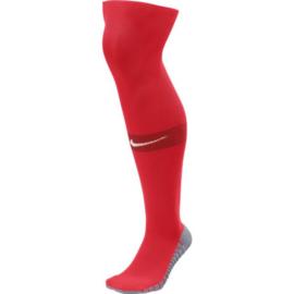 Rode Nike Matchfit voetbalsokken