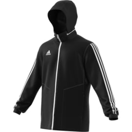 Zwarte All weather jas Adidas TIRO 19 junior