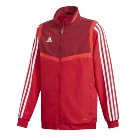 Rode Adidas TIRO 19 trainingsjas