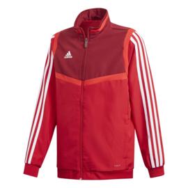 Rode Adidas TIRO 19 trainingsjas