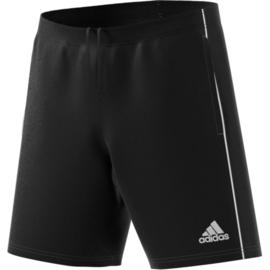 Zwarte voetbalshort Adidas Core 18 met steekzakken