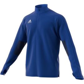 Lichtblauwe Adidas condivo 18 trainingsjas