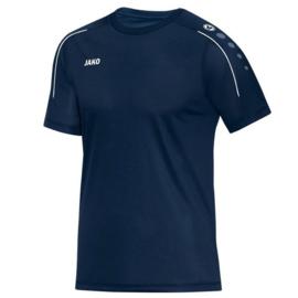 Donkerblauw Jako shirt met korte mouwen