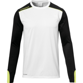 Wit keepersshirt Uhlsport
