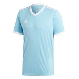 Lichtblauw Adidas shirt junior met korte mouwen