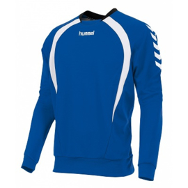 Hummel Teamlijn sweater lichtblauw junior