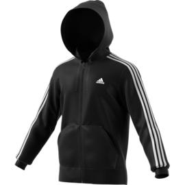 Zwart Adidas vest met capuchon