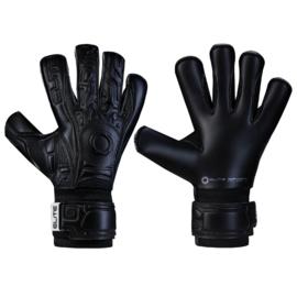 2 Paar Zwart keepershandschoenen Elite Black SOLO met 20% korting
