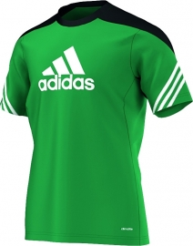 Adidas trainings shirt groen