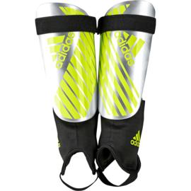 Adidas geel grijze REFLEX scheenbeschermers met enkelbeschermers