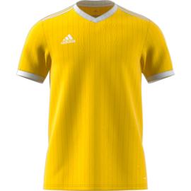 Geel Adidas shirt junior met korte mouwen