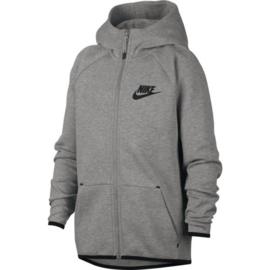 Nike tech fleece junior grijs