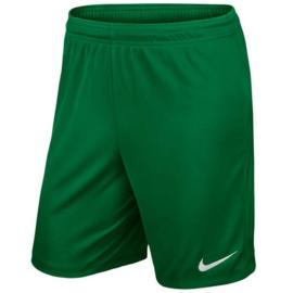 Groene Nike Park short