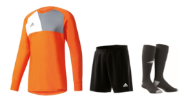 Adidas Assita junior keeperstenue oranje