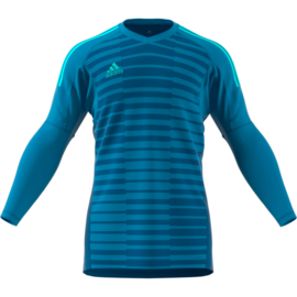 Blauw Adidas keepershirt of compleet keeperstenue 2018 Adipro