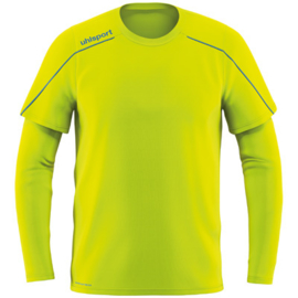 Geel keepersshirt Uhlsport