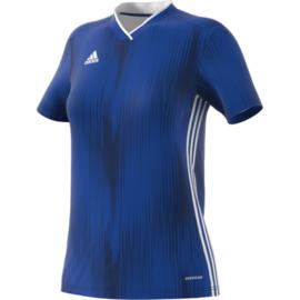 Adidas Tiro 19 blauw damesshirt