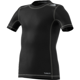 Adidas Techfit Base junior thermoshirt zwart