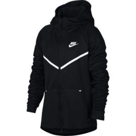 Nike tech fleece junior zwart
