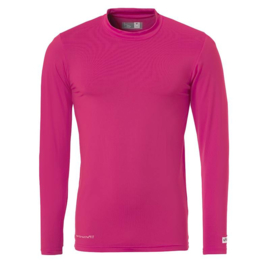 Roze ondershirt / thermoshirt junior en senior Uhlsport