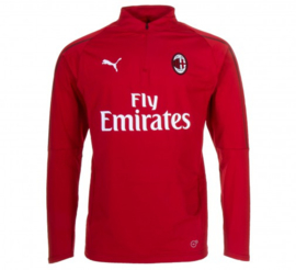Rode Puma trainingsjas AC Milan