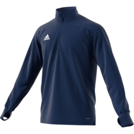 Adidas Condivo 18 trainingstop blauw