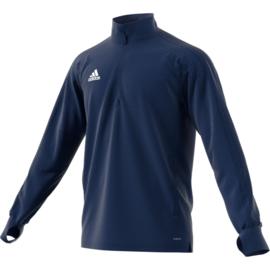 Adidas Condivo 18 trainingstop blauw