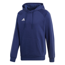 Blauwe Adidas hoody met capuchon Core 18
