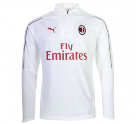 AC Milan Puma trainingstop / trainingsjas wit