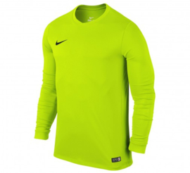Nike geel keepersshirt